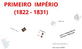 BR2.  PRIMEIRO  IMPÉRIO