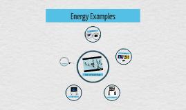 Energy Examples