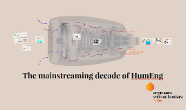 Next decade of HumEng