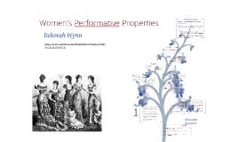 Women's Performative Properties