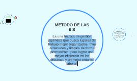 Copy of METODO DE LAS 6 S