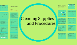 Copy of Cleaning Supplies and Procedures