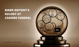antony funeral speech essay