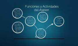 Funciones y Actividades de Asesor
