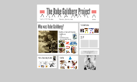 Rube Goldburg Portfolio