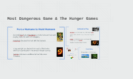 Copy of Most Dangerous Game & The Hunger Games