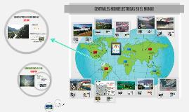 Hidroeléctricas en el mundo