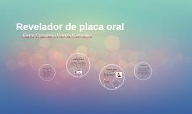 Revelador de placa oral