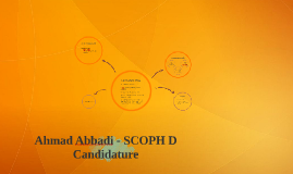 Ahmad Abbadi - SCOPH D Candidature