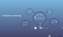 Collections & Collecting