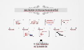 AKCİĞER ULTRASONOGRAFİSİ