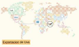 Exportacion de Uva