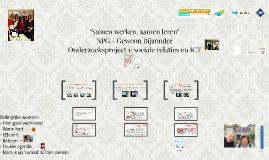 Onderzoeksproject 1: sociale relaties en ICT