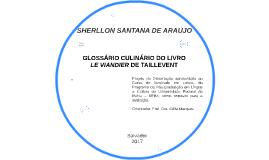 SHERLLON SANTANA DE ARAÚJO