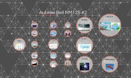 Aubree Bell RM125 #2