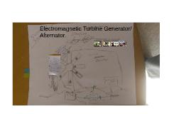 Electromagnetic Turbine Generator/Alternator.