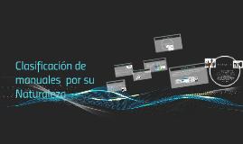 Copy of Clasificación de Empresas por su Naturaleza