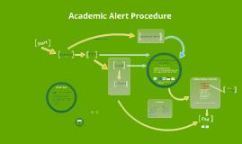 Academic Alert Flowchart