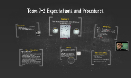 Team 7-2 Expectations and Procedures