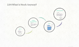 2.04 What is Stock Anyway?