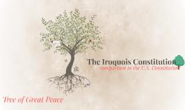 iroquois constitution summary