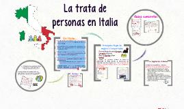 Copy of La trata de personas en Italia