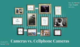 Cameras vs. iPhone Cameras