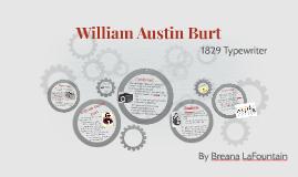 Copy of William Austin Burt