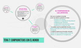 Copy of TEMA 7: COMPROMETIDOS CON EL MUNDO