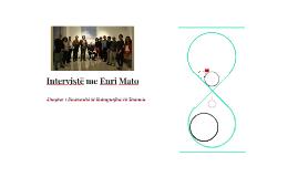 Intervistë me Enri Mato