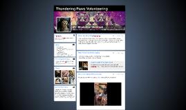 Thundering Paws Volunteering