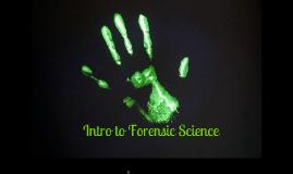 Forensics: Ch. 1