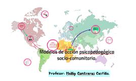 Intervención Psicopedagógica en Centros comunitarios.