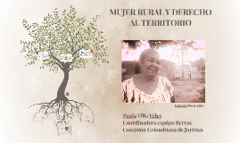 MUJER RURAL Y DERECHO AL TERRITORIO