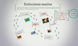 Extinciones masima
