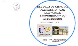 ESCUELA DE CIENCIAS ADMINISTRATIVAS CONTABLES ECONOMICAS Y D