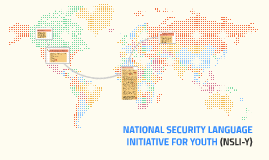 NATIONAL SECURITY LANGUAGE INTIATIVE (NSLI) FOR YOUTH