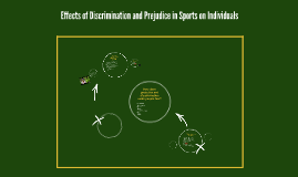 Effects of Discrimination and Prejudice in Sports on Individ
