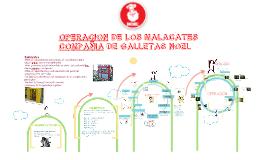 OPERACION MALACATES