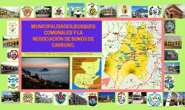 Municipalidades, Bosques comunales y la negociación de bonos