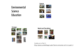 Environmental Science Education