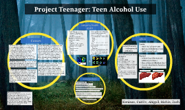 Project Teenager: Teen Alcohol Use