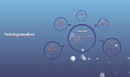 Copy of Setningsanalyse