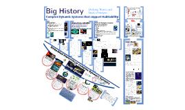 Big History: Complex Dynamic Systems/ Habitability