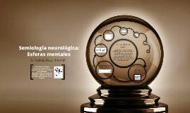 Esferas mentales (Examen neurológico)