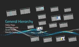 General Hierarchy