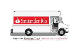 Santander Rio Bank Truck