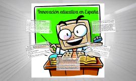 Innovación educativa en España desde el punto de vista de sus protagonistas