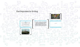 Earthquakes in Irving