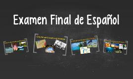 Examen Final de Español